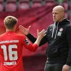 Der Cheftrainer Antwerpen und sein Kapitän Jean Zimmer