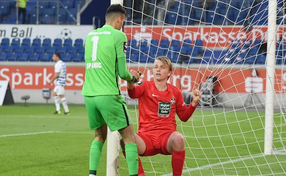Der FCK und MSV Duisburg trennen sich 2:2.