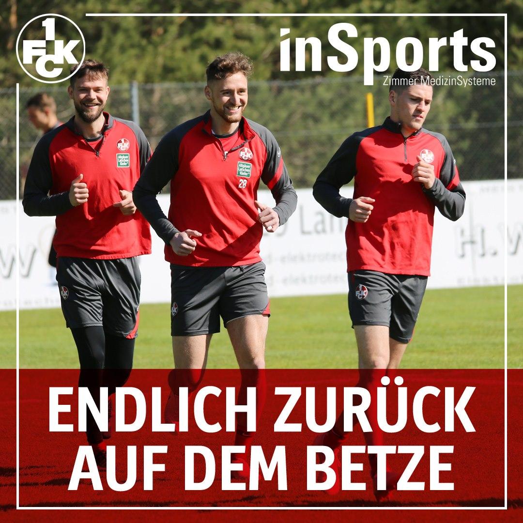 Lukas Spalvis trainiert wieder mit der Mannschaft