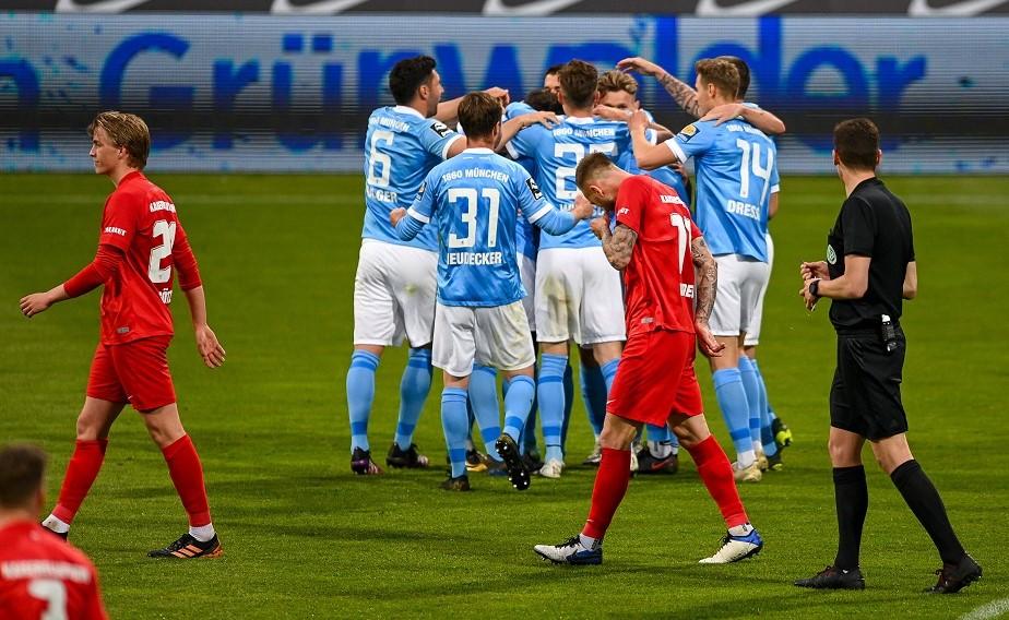 Ein Fußball-Abend zum Vergessen. Der FCK unterliegt dem TSV mit 0:3.