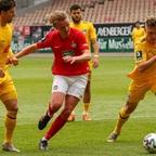 Bei Viktoria Köln will der FCK den Klassenerhalt vorzeitig sichern
