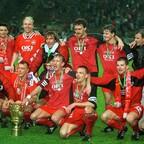FCK im Jahre 1996: Erst der Abstieg, dann der Pokalsieg