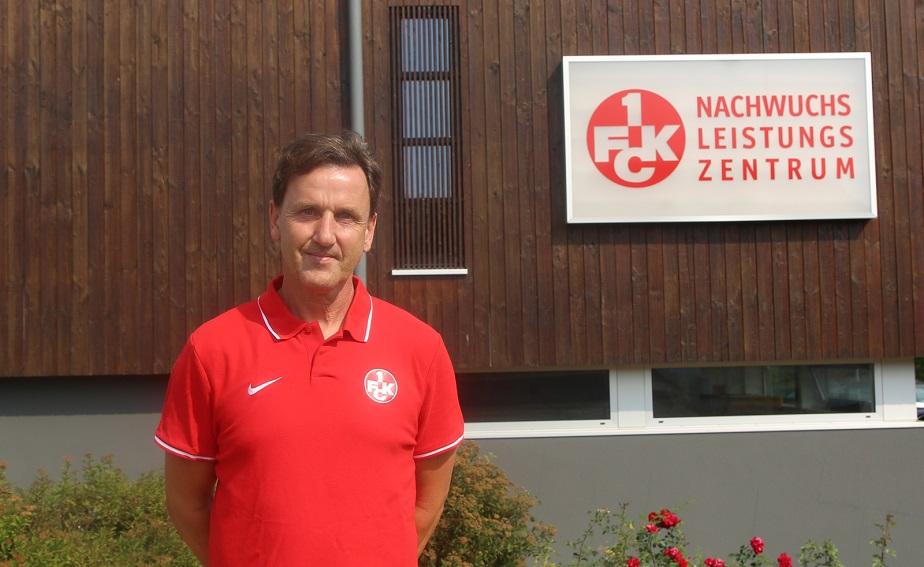 Uwe Scherr leitet das FCK-Nachwuchsleistungszentrum