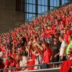 Heimspiel: Bis zu 15.000 Zuschauern dürfen beim Auftakt gegen Braunschweig ins Fritz-Walter-Stadioon