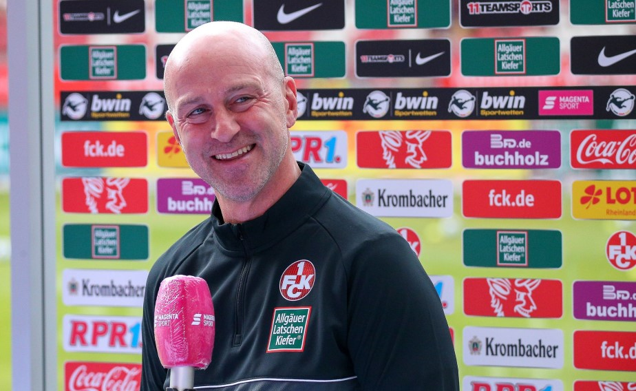 Der FCK-Cheftrainer im Gespräch vor dem Auswärtsspiel in Meppen