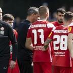Marco Antwerpen wirft seiner Mannschaft fehlende Einsatzbereitschaft vor