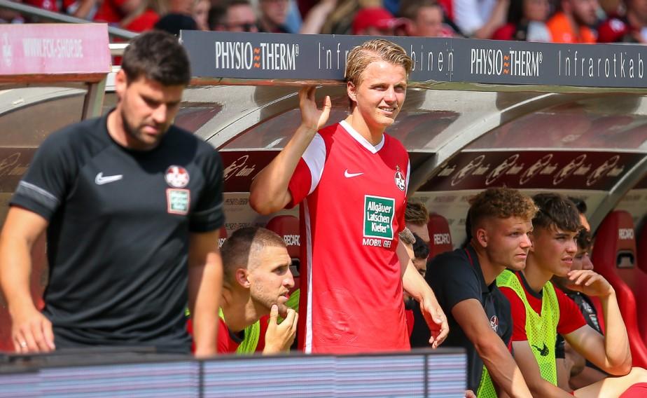 FCK-Spieler Felix Götze wartet sehnsüchtig auf sein Comeback.