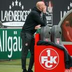 Kein Grund zur Panik: Trotz der Pokalaus steht der FCK in der Liga grundsolide da.